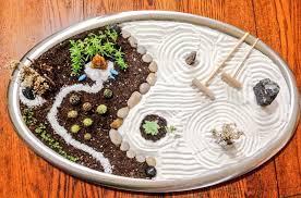 zen garden diy mini zen garden