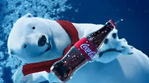Image result for coke polar bear
