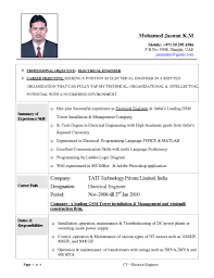 Examples Of Resumes : Formats Different Types A Resume Intended ...