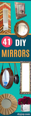 Diy Mirror Projects 41 Diy Mirrors You Need In Your Home Right Now Diy Joy