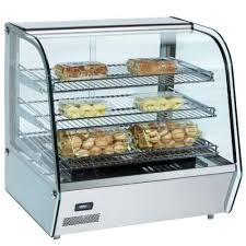 mhc120 28 heated countertop display case