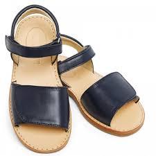 girls navy blue sandals for children