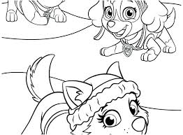 Paw Patrol Coloring Book Skye Coloring Pages Paw Print Coloring Page