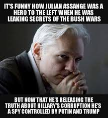 liberal hypocrisy on julian assange and wikileaks exposed imageedit 882 9986471768