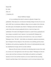 english process analysis essay teyani odom english  3 pages tuskegee pride essay