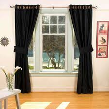black and white curtains target dark small room blackout for