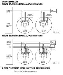 smoke detector circuit basics 2 wire 4 wire fire alarm wiring diagram
