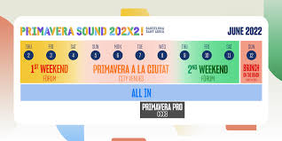 Unlike sonar festival the focus is more on bands and less on electronic music. Lldb M6hhxcn3m
