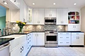 white kitchen cabinets black granite countertops images collection with fabulous ideas gray counter tops