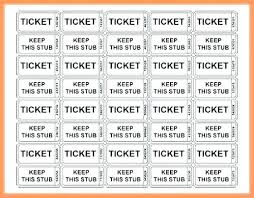 Template Raffle Tickets Free Download Download Raffle Ticket Template Free Templates Design A Sign