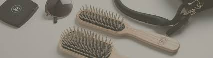 hair brushes and combs made of ash wood fsc 100 certified finished by hand and polished before being treated with linseed oil and vegetable carnauba wax