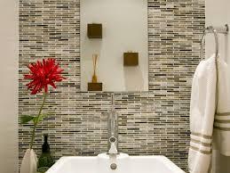 Bathroom Backsplash Styles And Trends HGTV Stunning Tile Backsplash In Bathroom