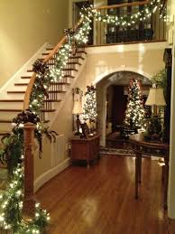 1000 Images About Christmas Decorations Mantle/stairs/chandelier .