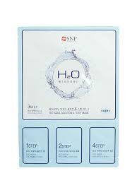 4-<b>х ступенчатая</b> увлажняющая <b>маска</b> для лица H2O AQUA ...