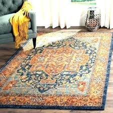 orange and blue rug gray e area excellent rugs for striped red