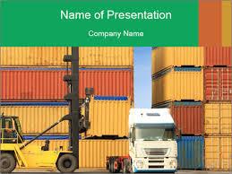 Export Goods Powerpoint Template Infographics Slides