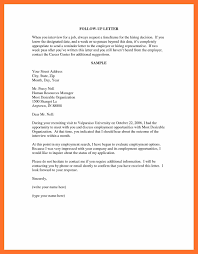 Sample Follow-Up Letter To A Job Application Save Follow Up Letter ...