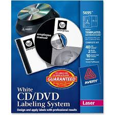 Avery Labels Dvd Amazon Com Avery Matte White Film Dvd Labeling Systems Ave5695