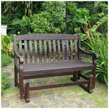 glider chair bench swing patio outdoor porch park rocker garden