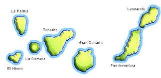 Resultado de imagen de mapa canarias