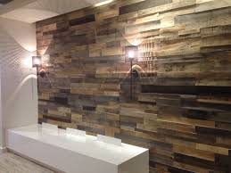 reclaimed accent wall recycled wood wall panels