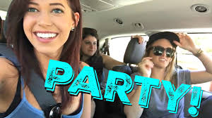 Lesbian party in car tubes