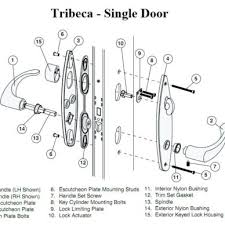 Door Lock Parts Door Handle And Lock Front Parts C Nongzico