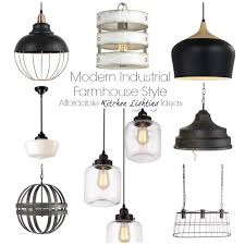 Affordable Modern Lighting Affordable Kitchen Lighting Options The Palette Muse