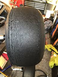 Kart Tire Durometer Chart Tire Wear Diagnosis Chassis Handling Help And Discussion