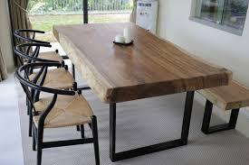 suar slab dining table