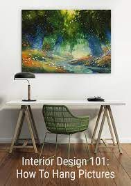 to hang pictures wall art prints