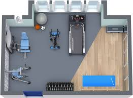 home gym floor plan