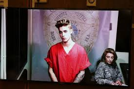 justin bieber arrested in miami for drag racing drink driving  justin bieber faces court