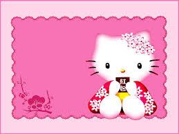 Hello Kitty Birthday Invitations Templates Barca Fontanacountryinn Com