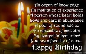 Happy Birthday Wishes Greetings Messages For Father In Law Todayz News