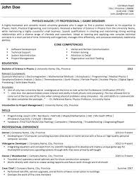 Android Game Developer Resume Free PDF Template Google Play