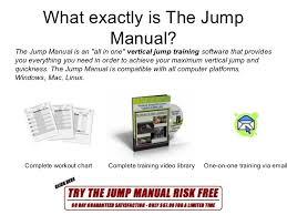 The Jump Manual Vertical Jump Training Actual User Feedback