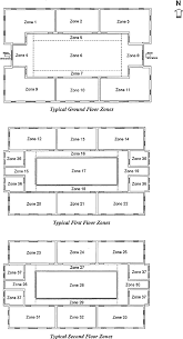 typical floor plans of the linear three y representative atrium