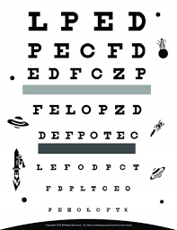 Jaeger Vision Chart Download Download Free Eye Charts A4 Letter Size 6 Meter 3