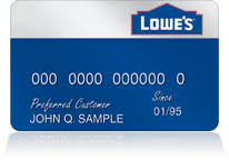 Lowe's Class Card Top Actions Credit Settlement Action