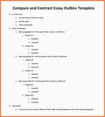 essay templates word essay checklist essay templates word compare and contrast essay outline template jpg