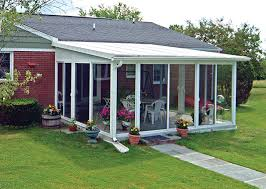 a patio enclosures easyroom kit is a pre fabricated sunroom or screen room addition that is installed by the homeowner designed for the experienced