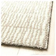 ikea white high pile rug cream natural colour beige cm s
