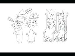 Ben And Holly Coloring Pages Pdf And Holly Coloring Pages And Holly