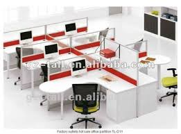 cheap office partitions. 6 Seats Wooden Glass Office Partitions Cheap S