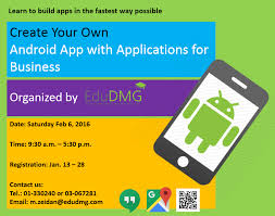 Create Your Own Android App With Applications For Business Lebtivity