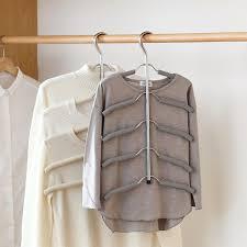 multi clothes hanger closet wardrobe hangers pants jeans bottoms shirt organizer organiser style degree sg singapore