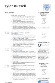 ... Lead Test Engineer Sample Resume 14 Lead Flight Test Engineer Resume  Samples ...
