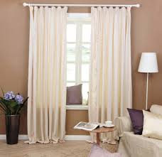 Living Room Curtain Rods Living Room Double Curtain Rods Curtain Design For Living Living