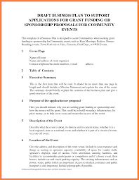 How To Write A Sponsorship Proposal Sample sample event sponsorship proposal Ninjaturtletechrepairsco 1